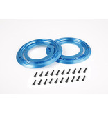 Rovan CNC Metal beadlocks outer 2 pc.