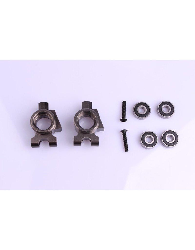 Rovan BM Big Foot CNC Metall Hinterradnabenträger Set