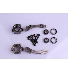 Rovan BM Big Foot CNC Metall Vorderradnabenträger Set