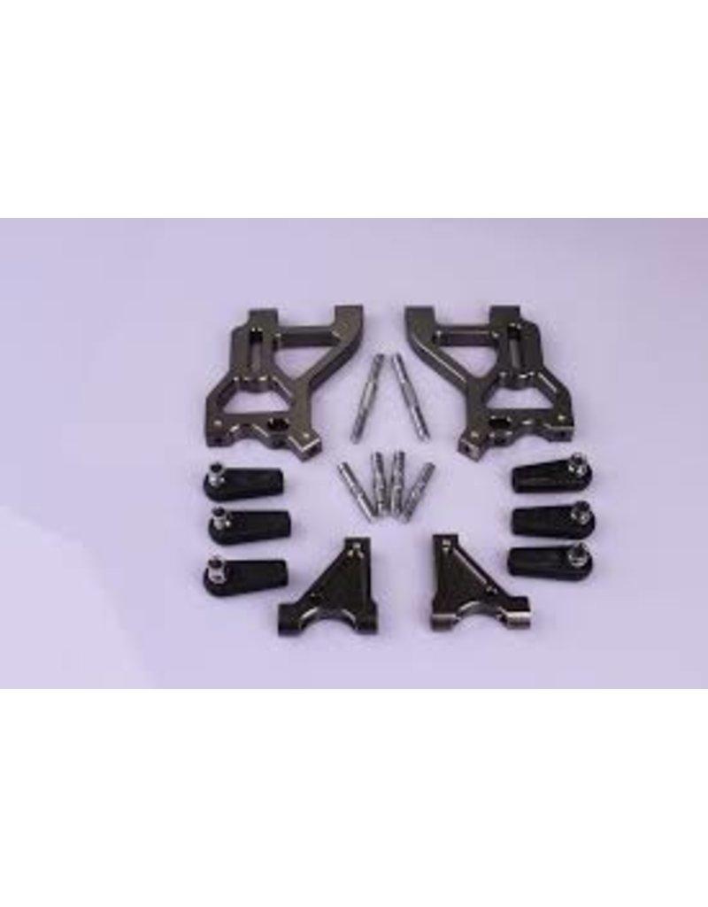 Rovan BM big foot CNC metal rear suspension kit