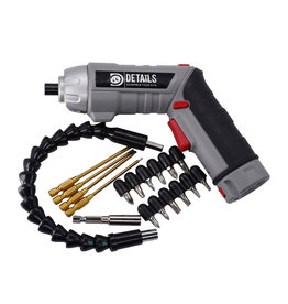 Hobby Detail Power1 Electric screwdriver with titanium Allen tips +  other accessories