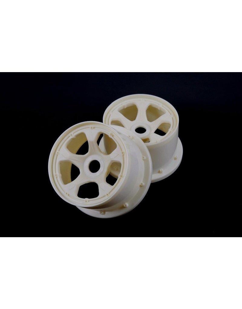 Rovan 5B Nieuwe uitvoering extra sterke nylon achter wiel set