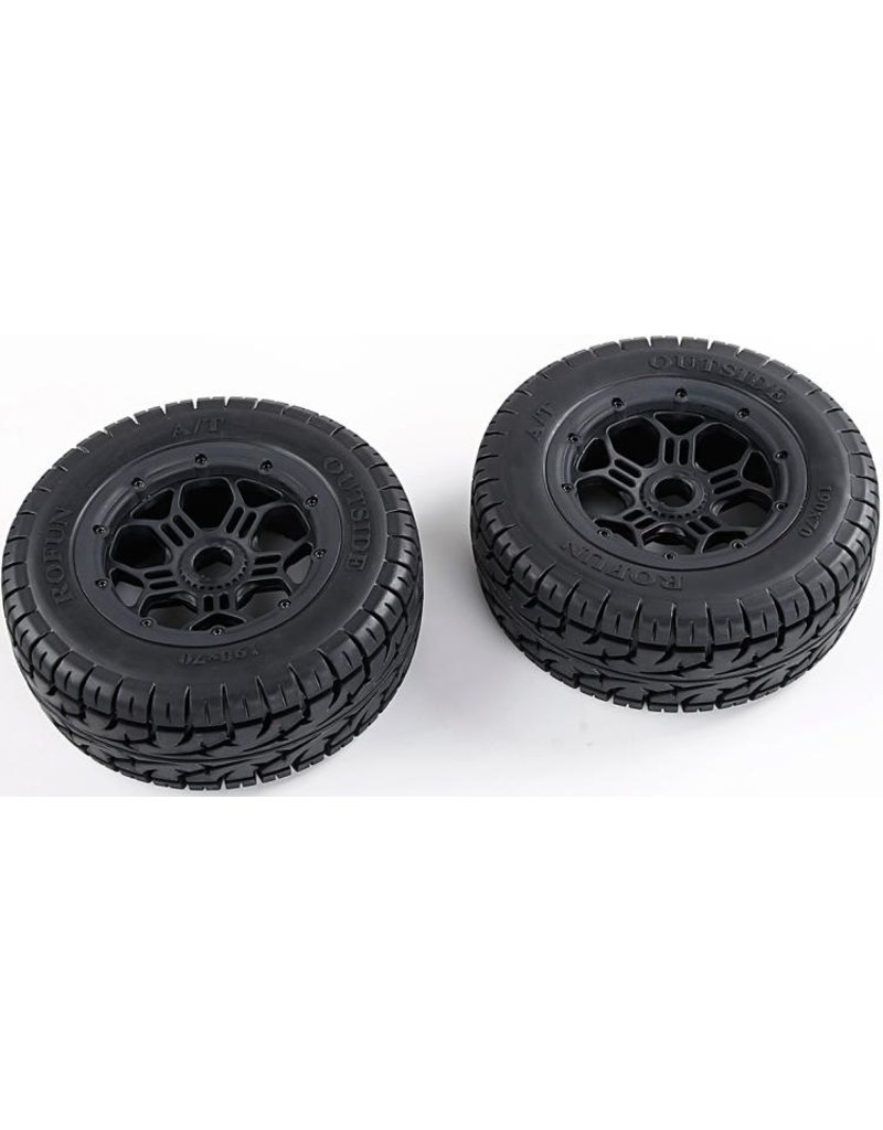RovanLosi LT / Losi all-terrain 3rd gen.  wheel set A/T all terrain outside 190x70 (SLT/V5/5S universal) 2 pcs