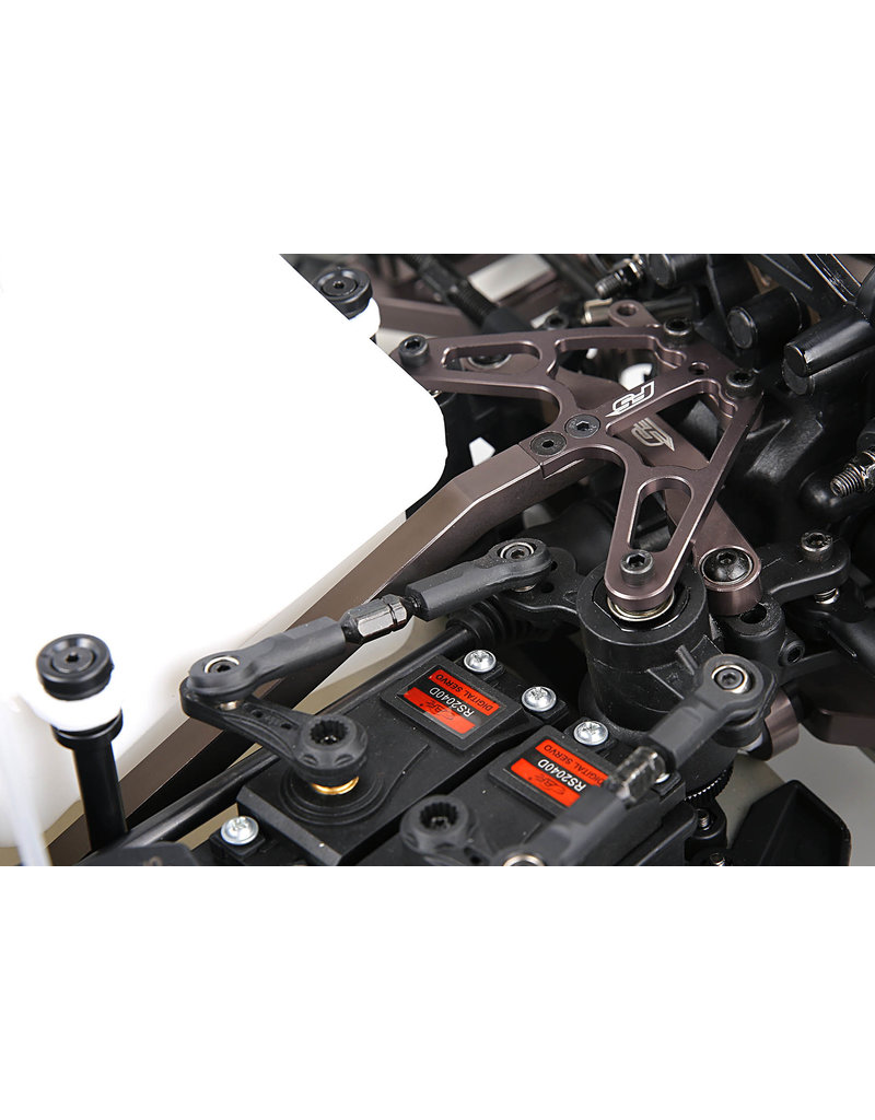 Rovan Sports F5 CNC metal front support kit