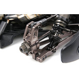 Rovan Sports F5 CNC metal front arms and wheel bearing set