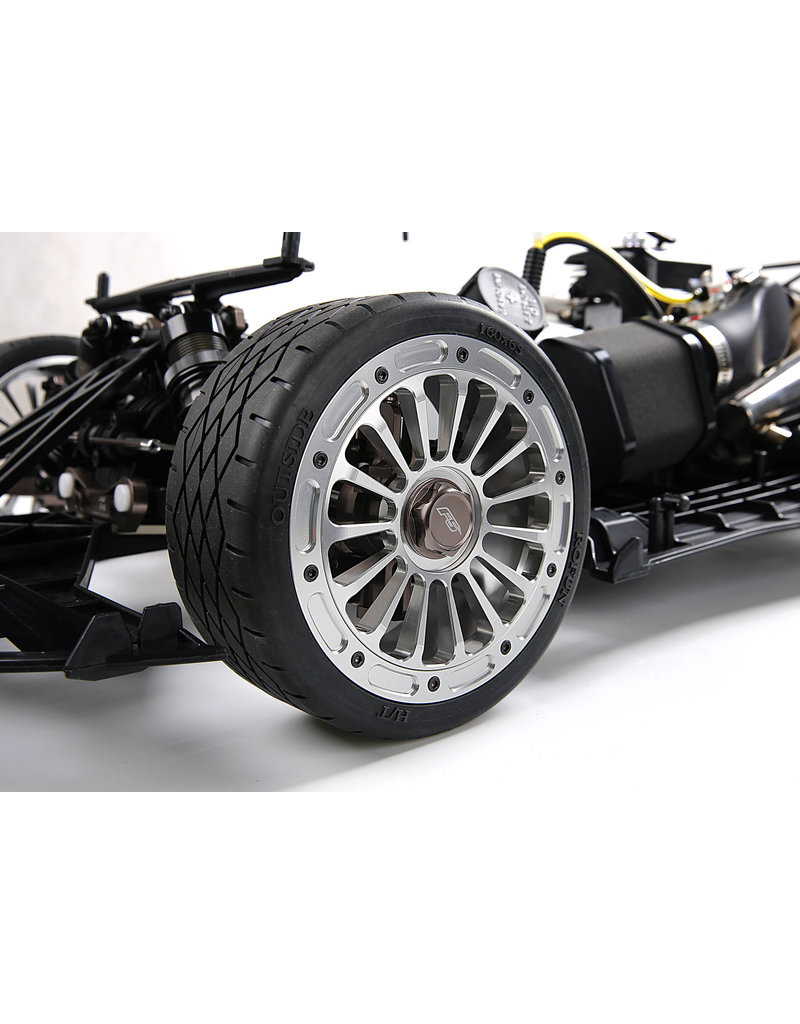 Rovan Sports F5 CNC metal second generation wheel road tire (per 2 stuks)