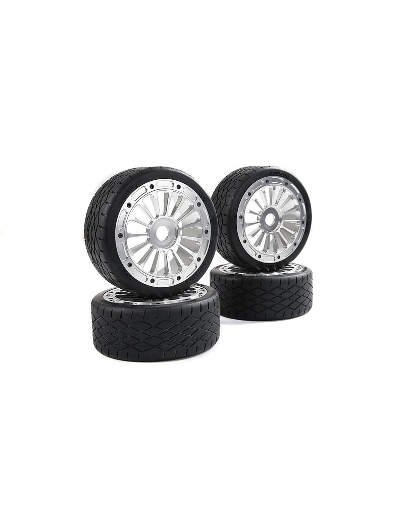Rovan F5 CNC metal second generation wheel road tire