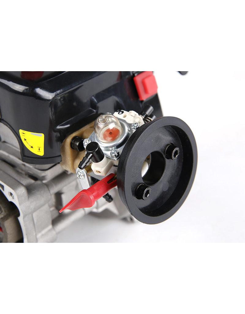 Rovan BAHA 36CC double piston ring! 4 bolts easy start engine (Walbro 1107 carburetor, NGK spark plug)