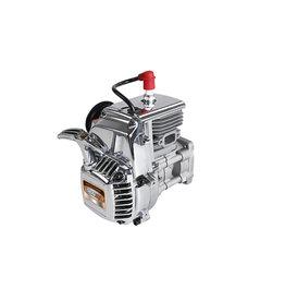 Rovan Sports BAHA 36CC Doppelkolbenring! Silber4 Schrauben Easy Start Motor (Walbro 1107 Vergaser, NGK Zündkerze)