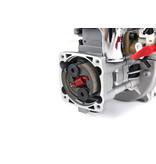 Rovan BAJA 36CC Doppelkolbenring! Silber4 Schrauben Easy Start Motor (Walbro 1107 Vergaser, NGK Zündkerze)
