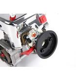 Rovan BAHA 36CC double piston ring! silver 4 bolts easy start engine (Walbro 1107 carburetor, NGK spark plug)