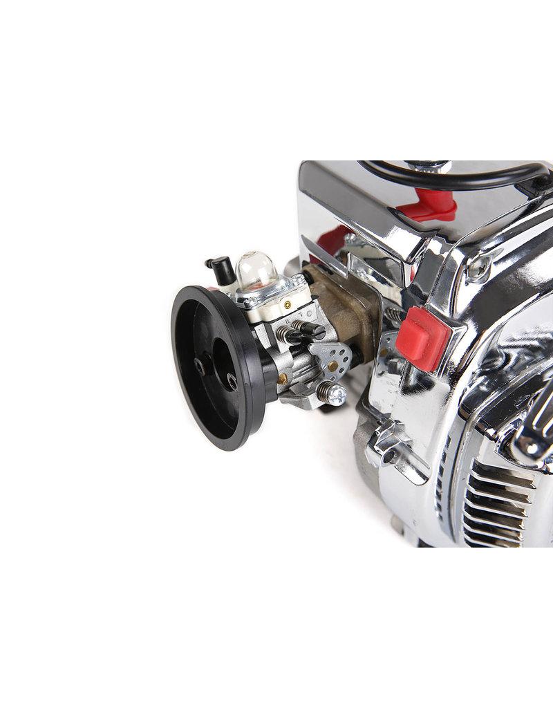 Rovan BAHA 36CC dubbele zuigerveer! zilveren 4 bouts easy start motorblok (Walbro 1107 carburateur, NGK bougie)