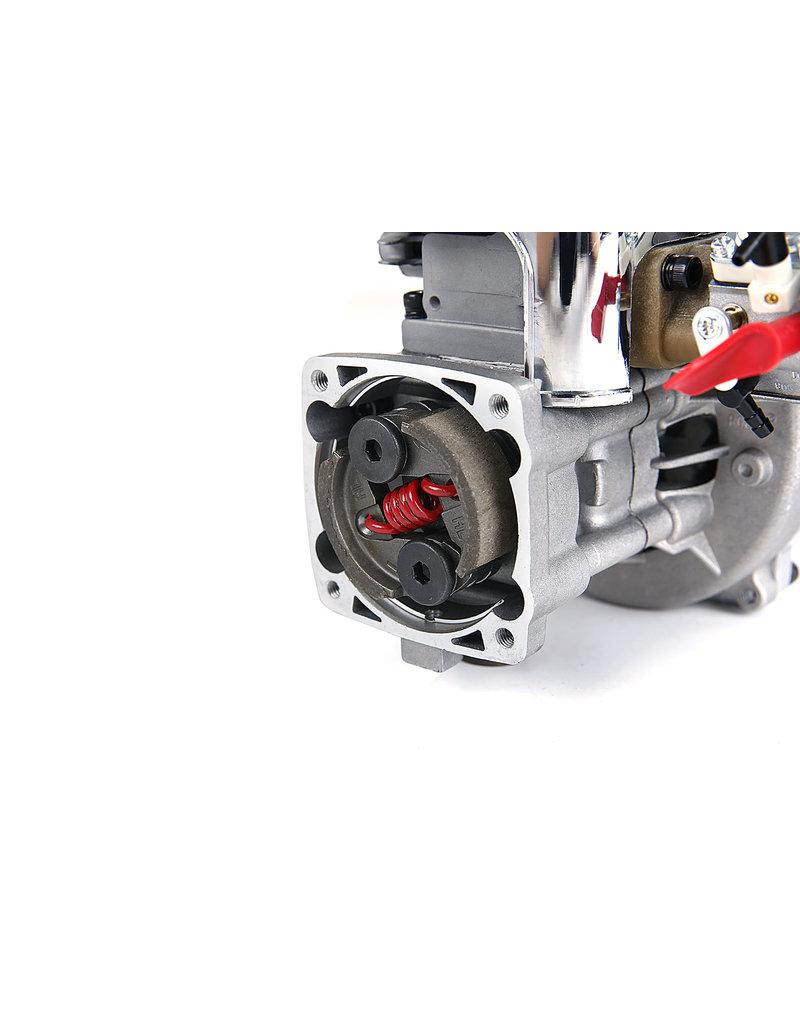 Rovan LT 36CC Doppelkolbenring!  Silber 4 Schrauben Easy Start Motor (Walbro 1107 Vergaser, NGK Zündkerze)