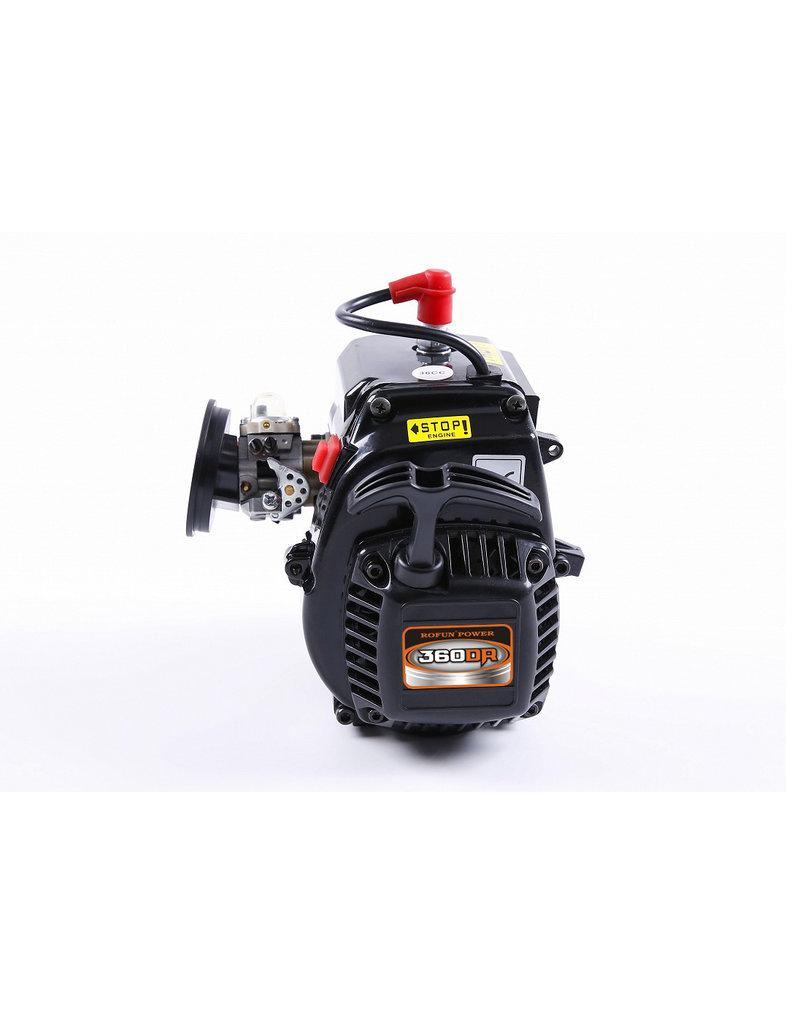 Rovan Sports LT 36CC dubbele zuigerveer! 4 bouts easy start motorblok (Walbro 1107 carburateur, NGK bougie)