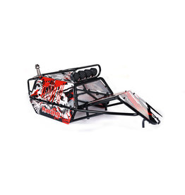 Rovan Sports GT pig roll cage complete with panels, lamps and spare wheel holder