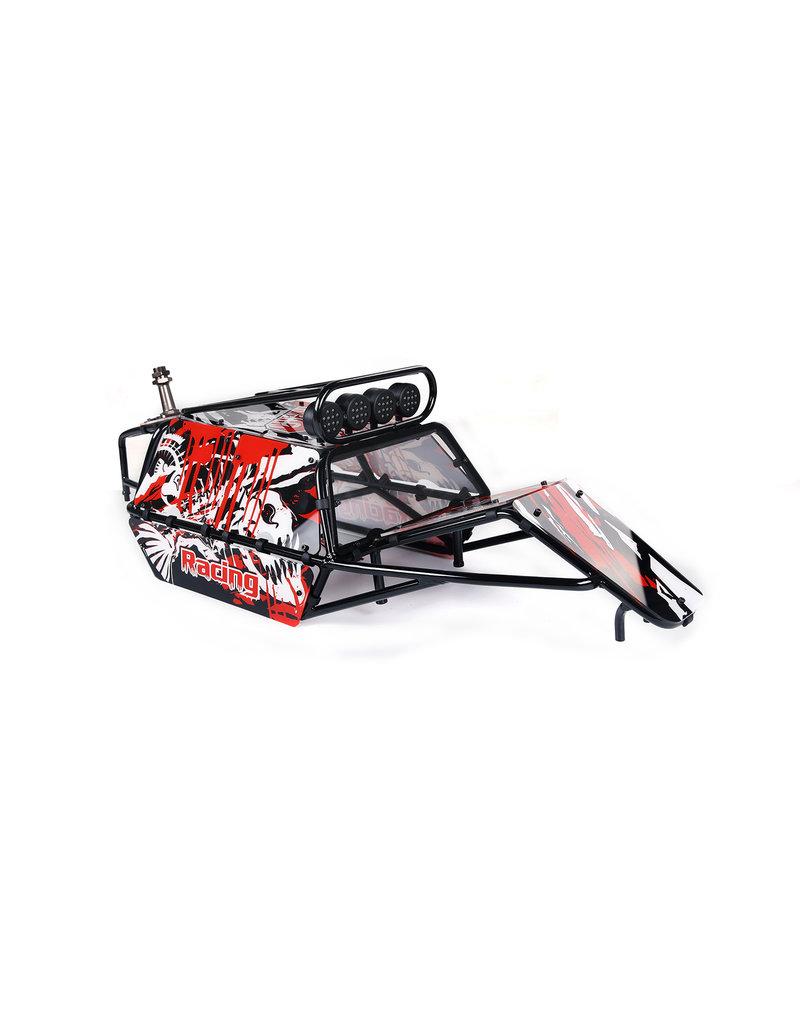 Rovan GT pig rolkooi compleet met panelen, lampen en reservewiel houder