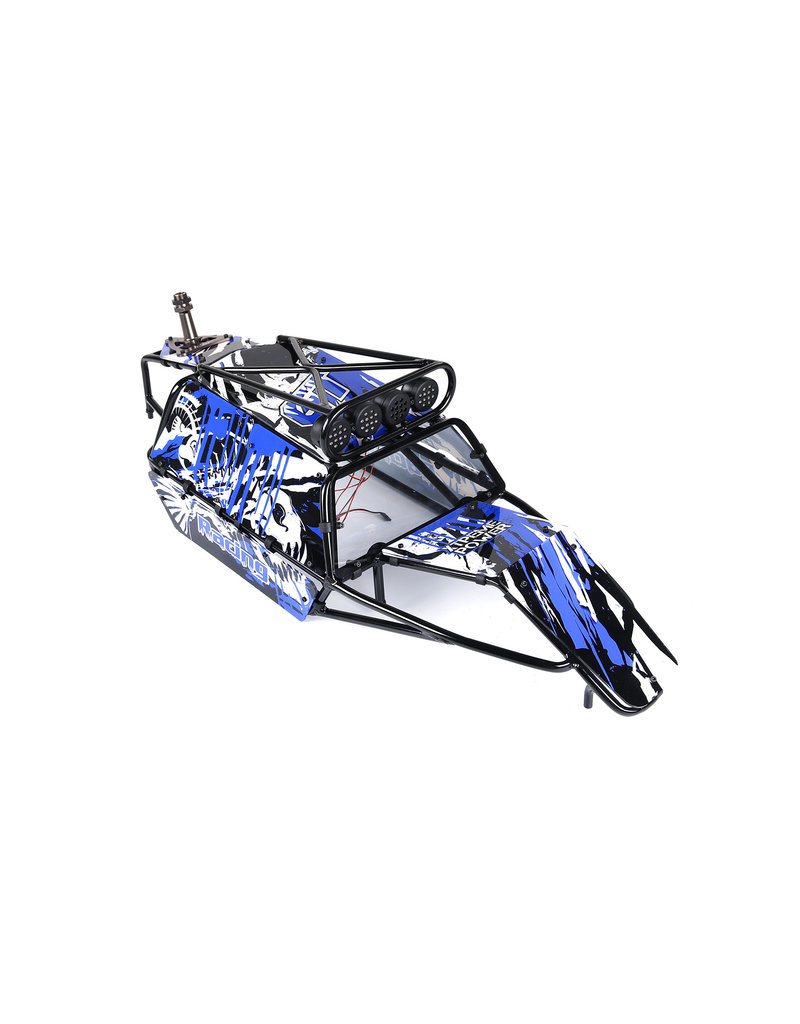 Rovan GT pig Überrollkäfig komplett mit panels, Lampen und Reserveradhalter