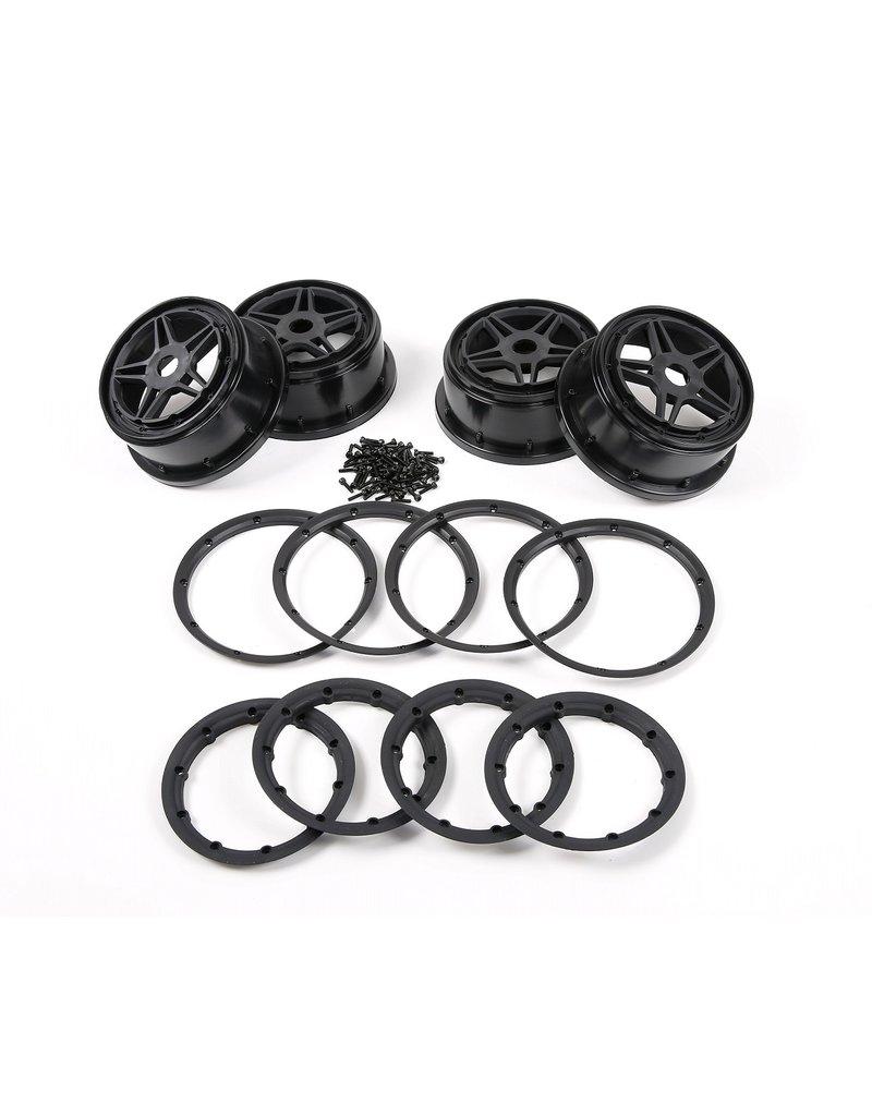 Rovan  F5 wheels with beadlocks and screws