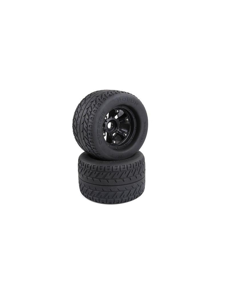 Rovan BM5 road tires wheels set (200x120)