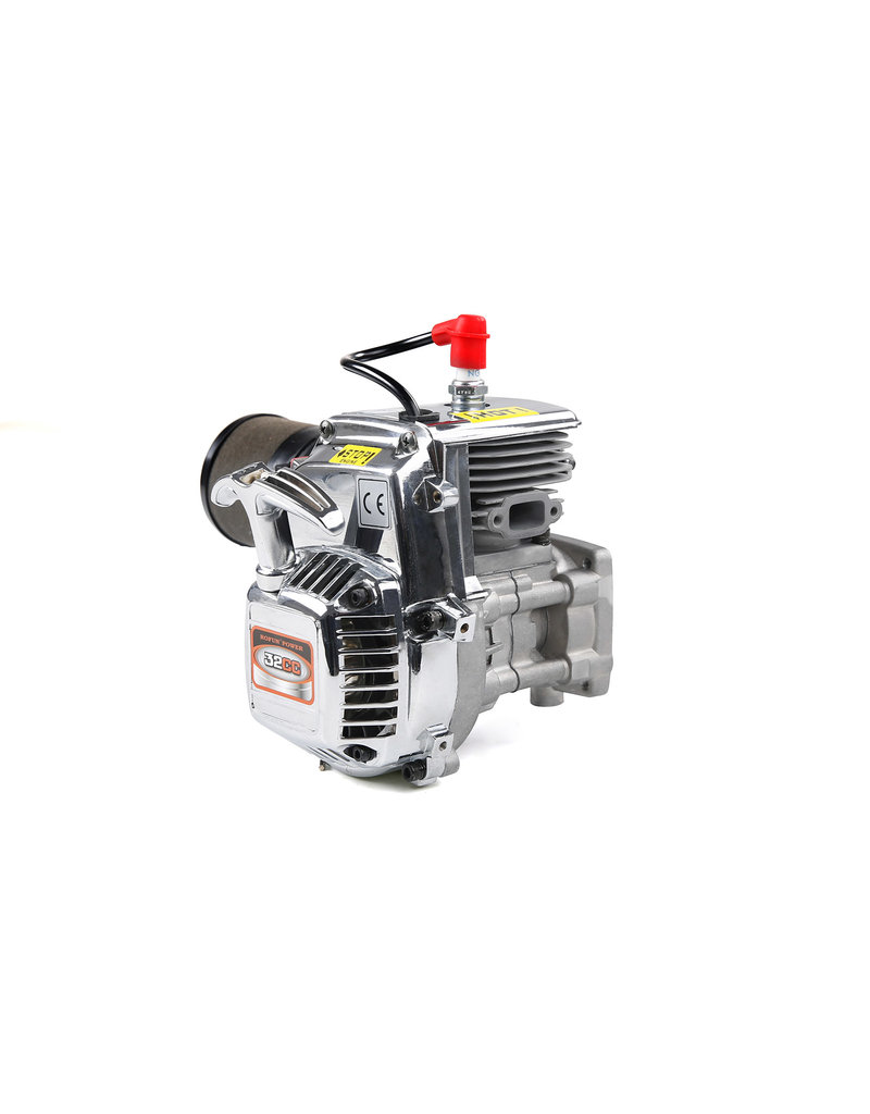 Rovan Rovan 32CC 4 Schrauben Motorblock Chrom, easy tot start engine