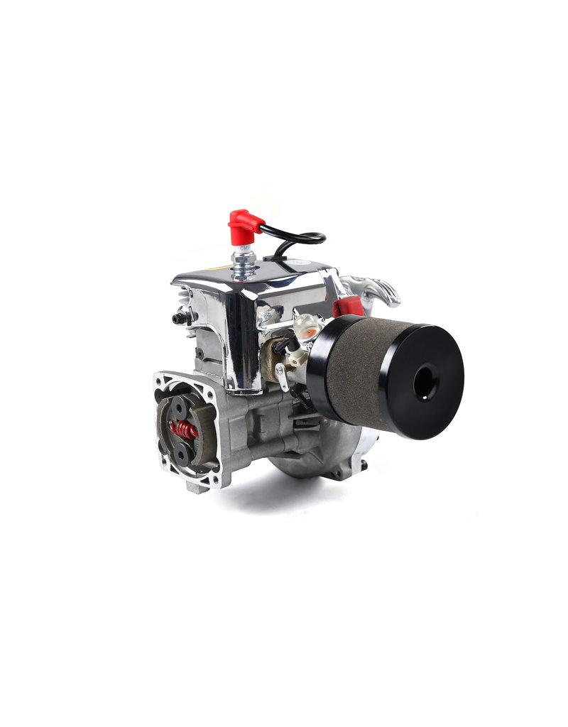 Rovan Sports Rovan 32CC 4 Schrauben Motorblock Chrom, easy tot start engine