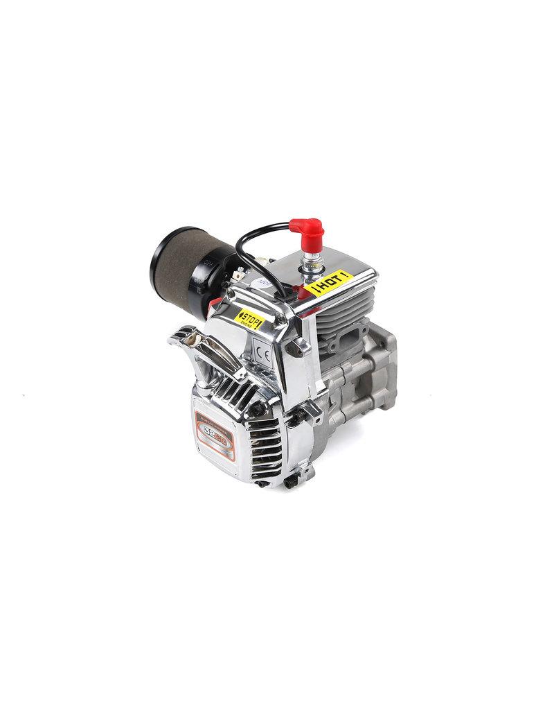Rovan Rovan 32CC 4 bouts motorblok chrome, easy tot start engine