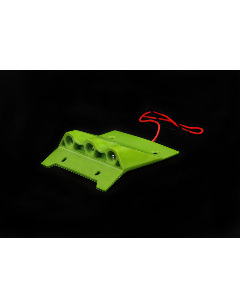 Rovan BAHA new high strength nylon roof plate, with led lights