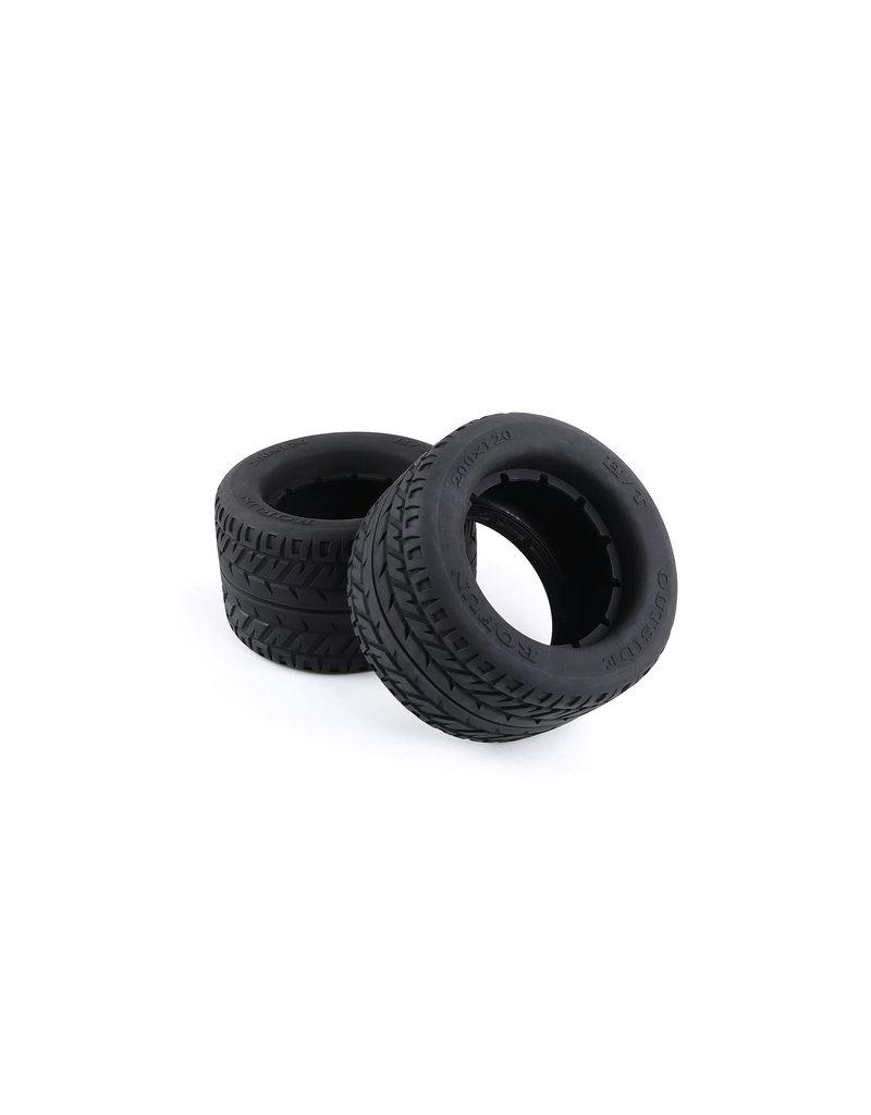 Rovan BM5 road tire set (200x120)