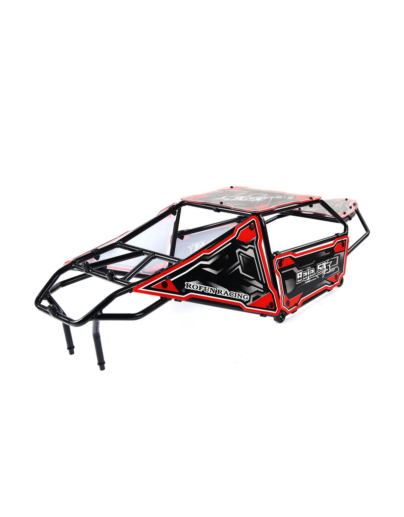 Rovan 5TS metal roll cage with panels