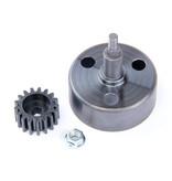Rovan Clutch bell (New upgraded) / Koppelingsklok + Hex 17T 1.5Mod Pinion Gear