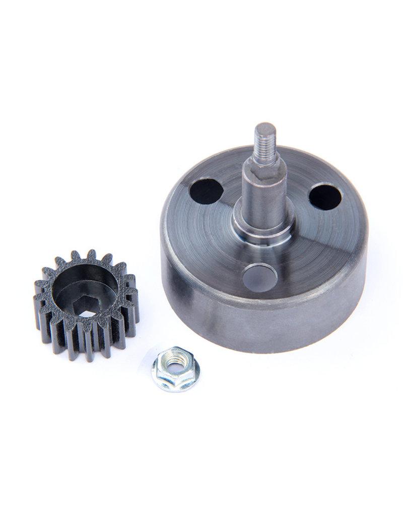 Rovan Sports Clutch bell (New upgraded) / Koppelingsklok + Hex 17T 1.5Mod Pinion Gear