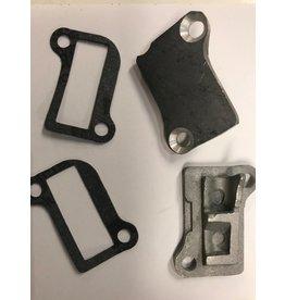 Rovan Cilinderpoorten deksels / engine cover port (2pcs) inclusief pakkingen