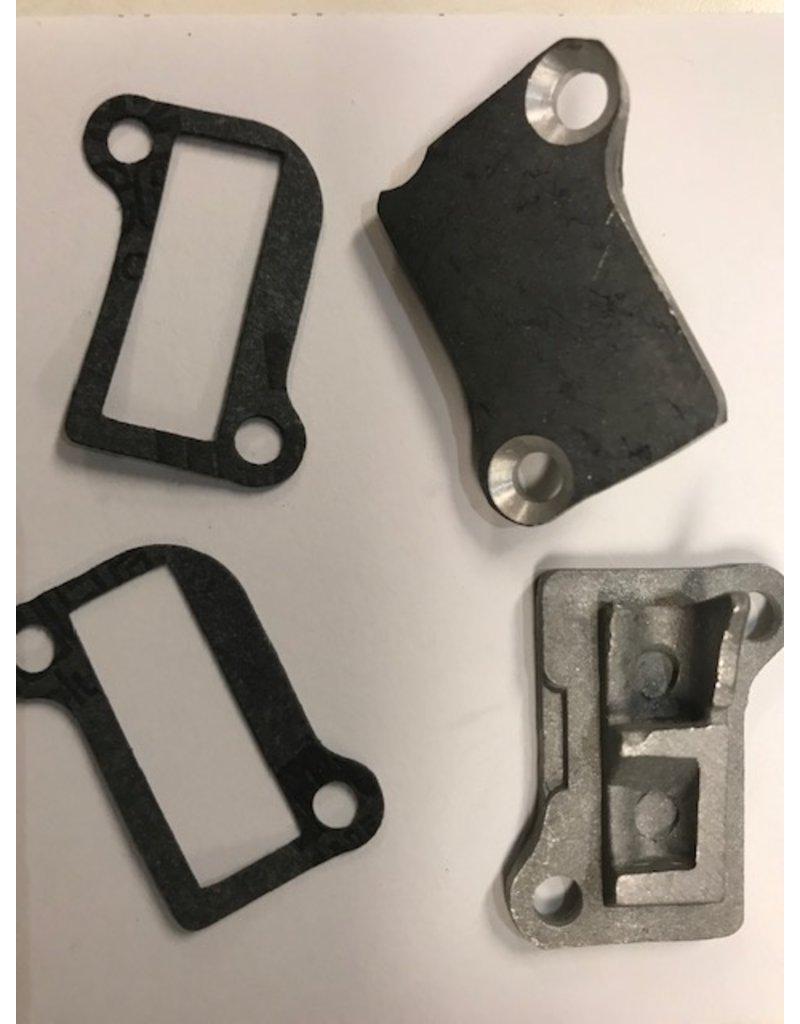 Rovan Sports Cilinderpoorten deksels / engine cover port (2pcs) inclusief pakkingen