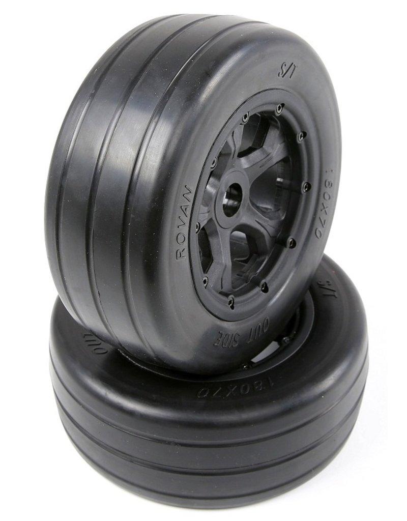 Rovan  LT slick tires(univeral to BAHA 4WD/LT/ Losi) 180x70 2 pc.