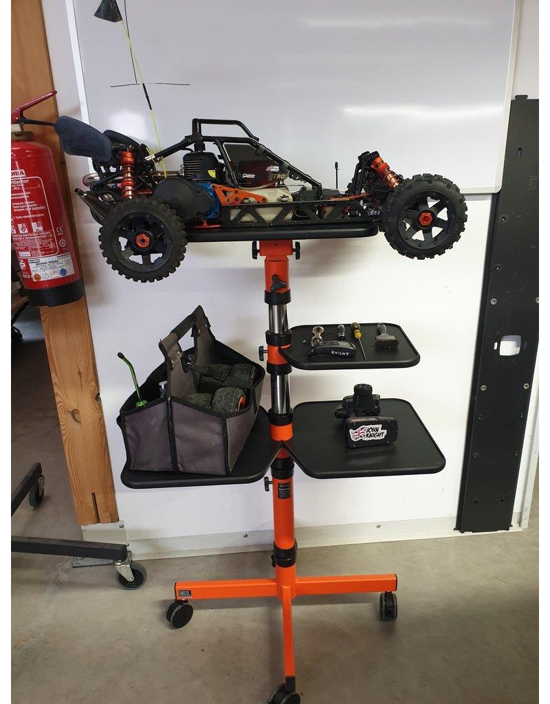 Mobiele werkplek voor RC auto