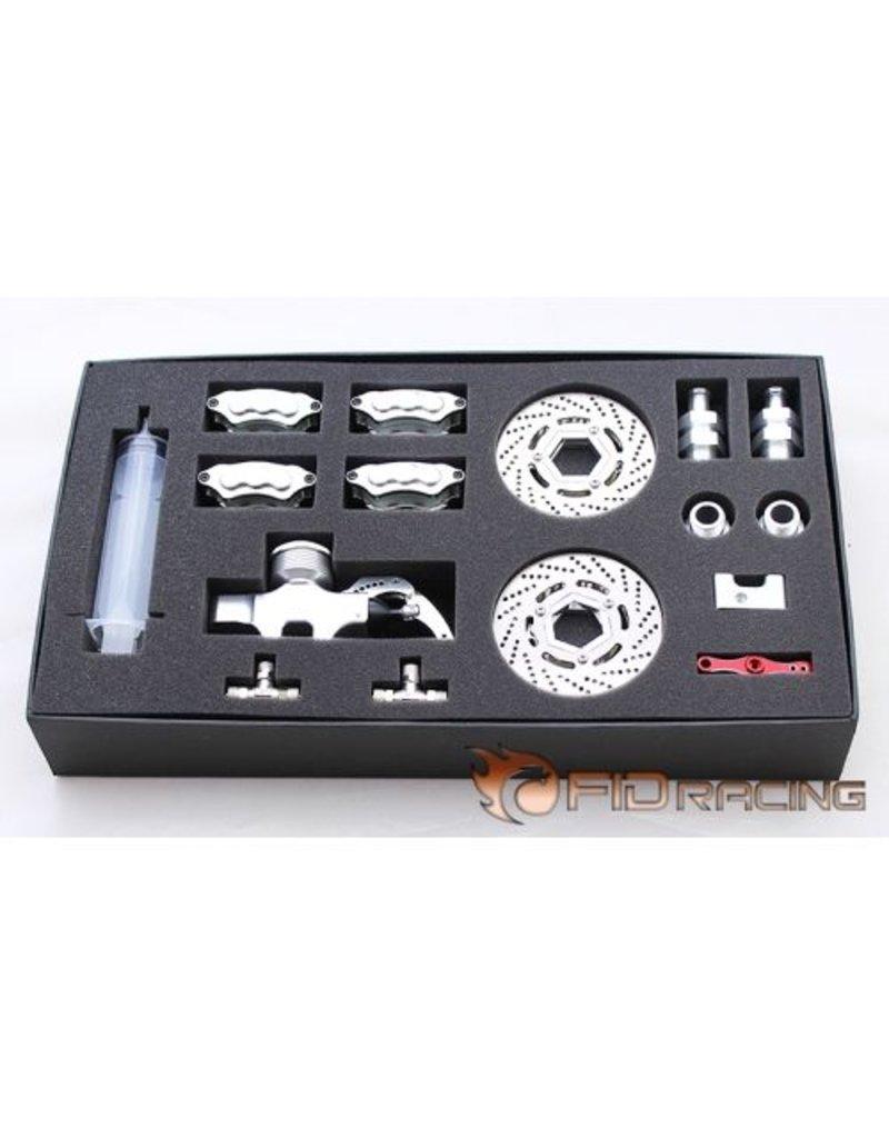 FIDRacing Front/rear hydraulic brake(7075-T6material)