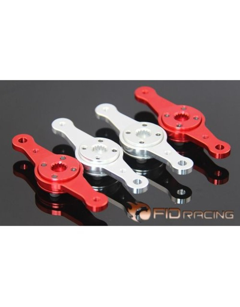FIDRacing Adjustable Steering Servo arm for dual servo tray