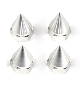 RovanLosi LT truck CNC tapered wheel nuts (4 pcs) / wielmoeren