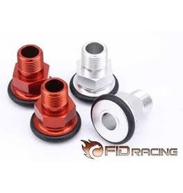FIDRacing 5ive T Axle Extenders 4pcs.