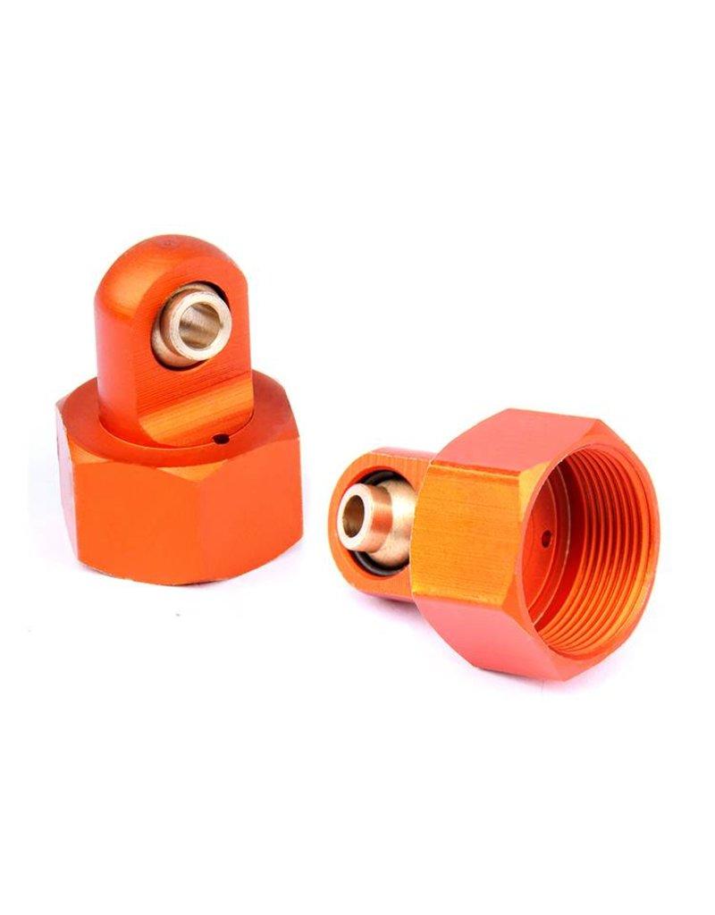 Rovan CNC 6mm metal upper cap of shock (2pc.)