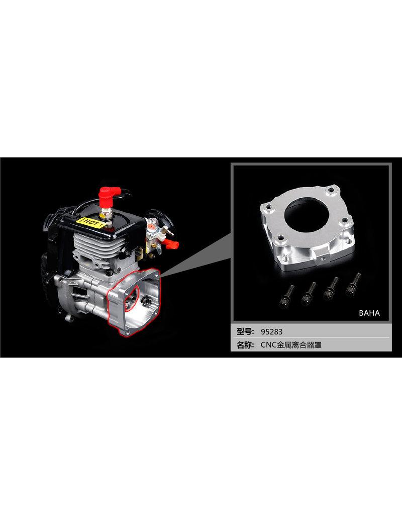 Rovan CNC metalen koppelingsdeksel voor BAHA 32CC / 36CC / 45CC-motor