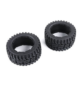 Rovan Baha 2nd gnt AT Tire Front / All types of surface tire set rear 170x80 (2pc)