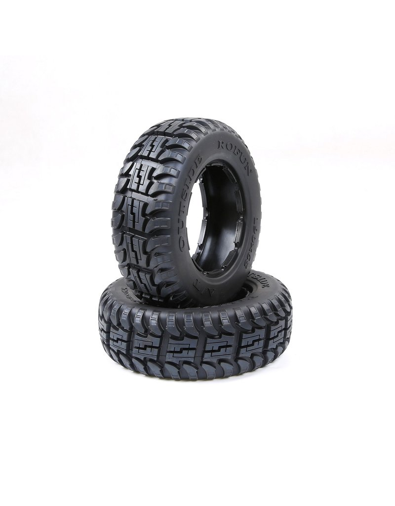 Rovan BAHA 5T/5SC full terrain front tyres skin set (190x65) 2pc.
