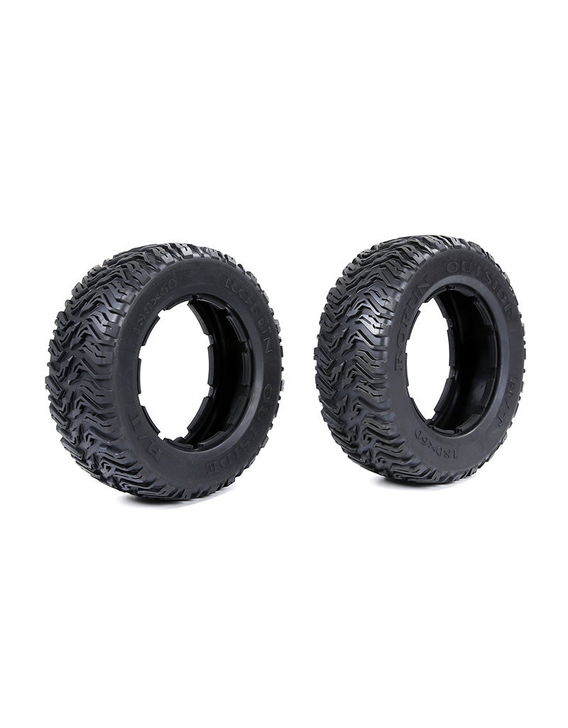 Rovan BAHA 5T/5SC/5FT third-generation road tires 180*60 (2pcs) / voorbanden