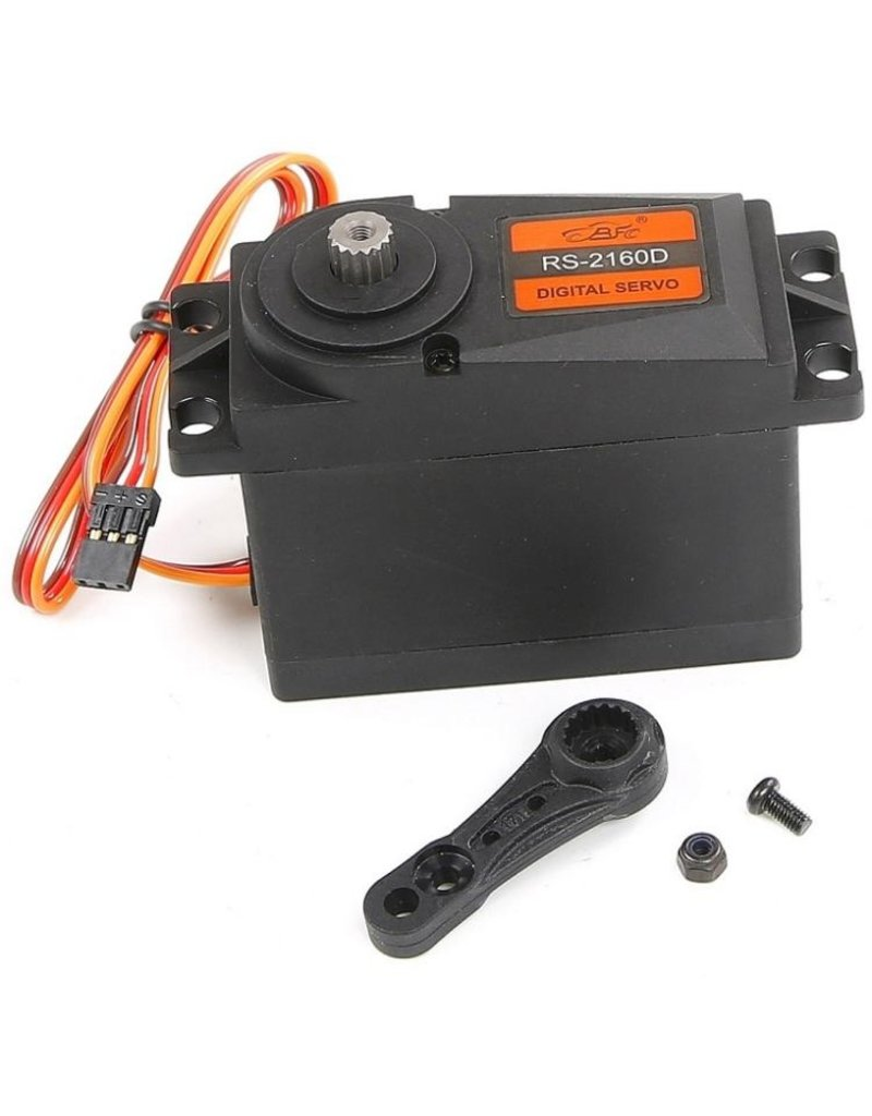 Rovan  60kg metal gear servo with plastic shell (15T/17T double sides arm) Fit for both Baja and LT