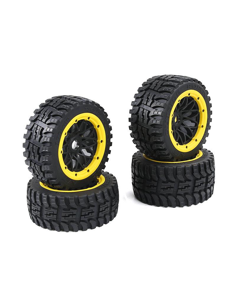 Rovan Baha 2nd gnt All terrain  Wheel Tire sets 4pcs 170x60 +170x80 (4pcs) / Bandenset voor alle terreinen - in diverse kleuren