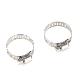 Rovan Stainless steel clamp for BAHA muffler pipe (2pcs) size 20-32mm