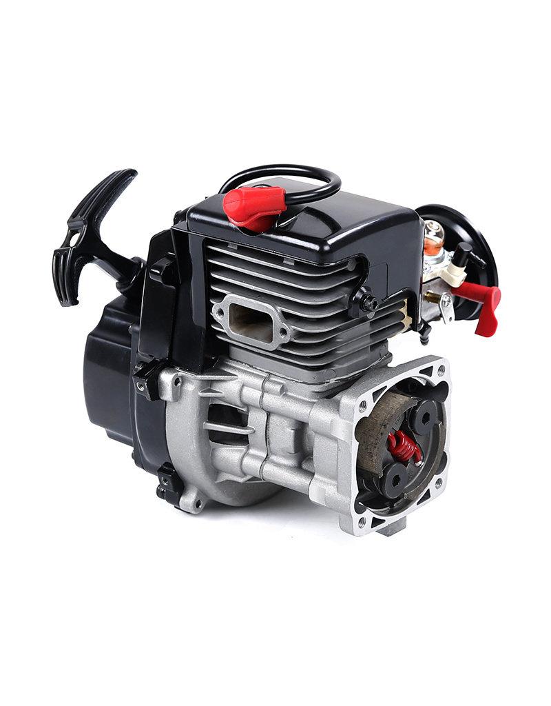 Rovan 45cc dubbele zuigerring vierbouts easy start motor (met Walbro1107 carb., NGK bougie)
