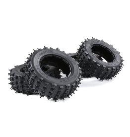 Rovan LT fourth generation wasteland tire nail tire skin (one car)