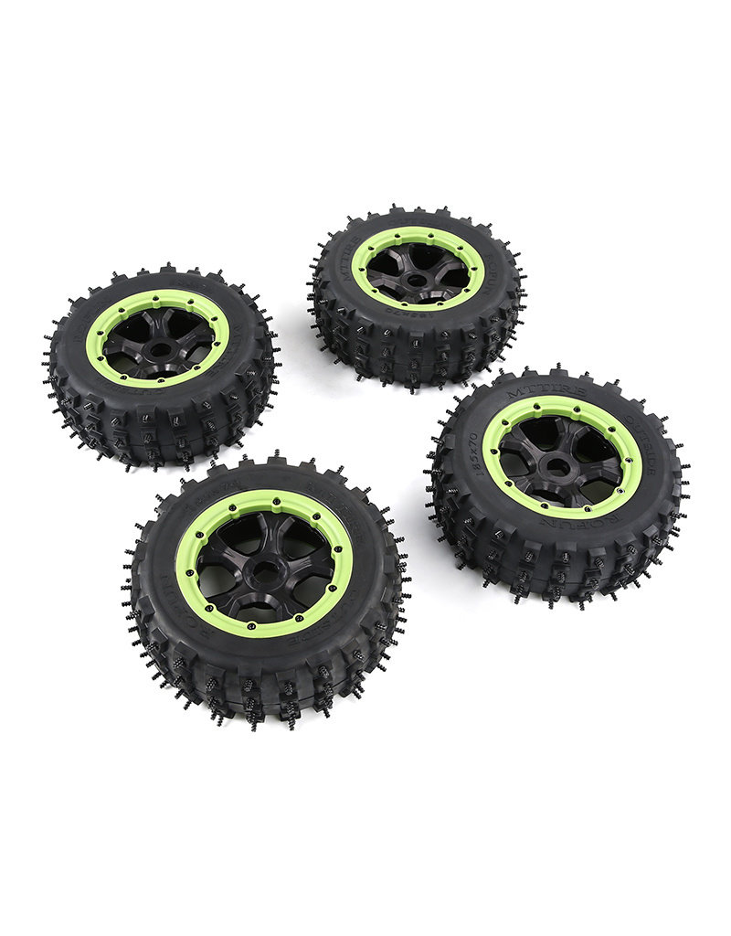 Rovan  LT / Losi 5ive T 4 gen. wasteland / Knobby  tire nail assembly (one car)